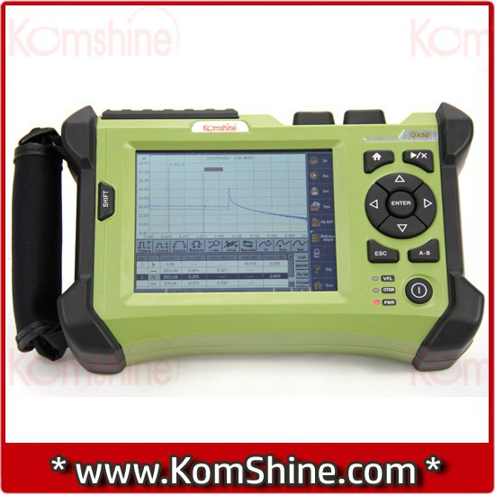 KomShine QX50 All-Fiber Equal to EXFO FTB-1/MAX-715B Fiber Optic OTDR Multi-Function