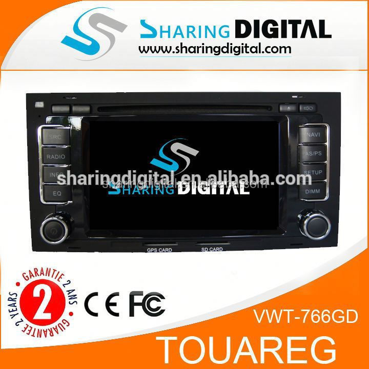 stereo with audio/video with Chipset SIRF STAR III for VW TOUAREG Car auto radio