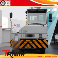 35 ton 37 ton 39 ton HOVA brand 266hp 196KW EURO 3 LNG CNG terminal container tractor for port