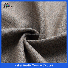 Vietnam Polyester Brushed Suit Fabric/Autumn Deep Color Fancy TR Twill Men Suiting Material
