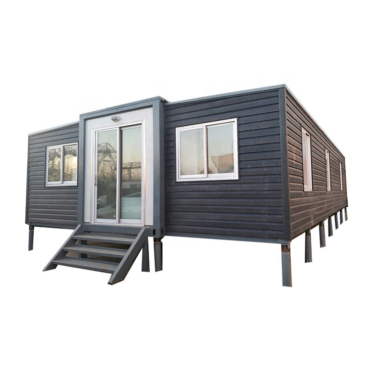 expandable container 40ft house foldable container house prefabricated2 bedroom folding nepal container house