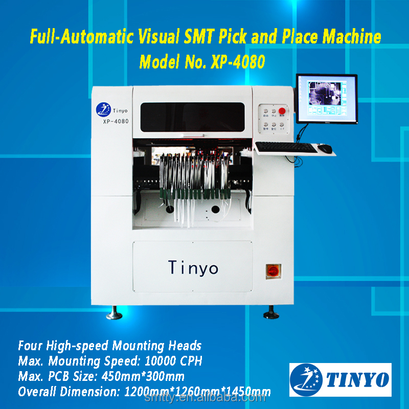 Desktop Small SMT pick and place machine/4 Heads SMT Pick and Place Machine for sale