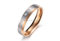 latest popular cheap fashion stainless steel jewelry small finger rings imported from china