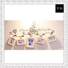 Mordern photo frame/Big wedding picture frame collage of high quality