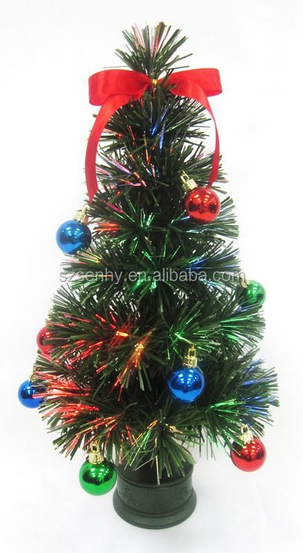 High Quality Pvc Pre Lit Led Fiber Optic Christmas Tree