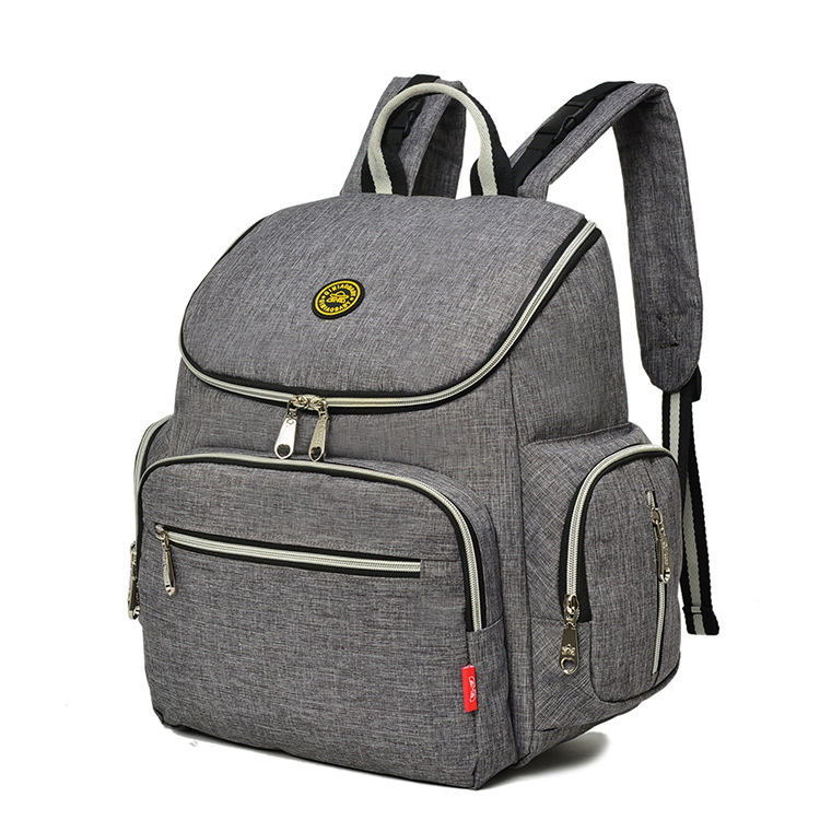 High quality diaper bag backpack with stroller straps