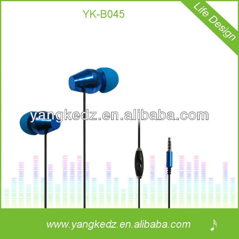 super cheap earphone with mic for mp3 mp4 music players