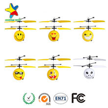 2017 hot sell LED flying ball flying rc helicopter toy for kids XY-102