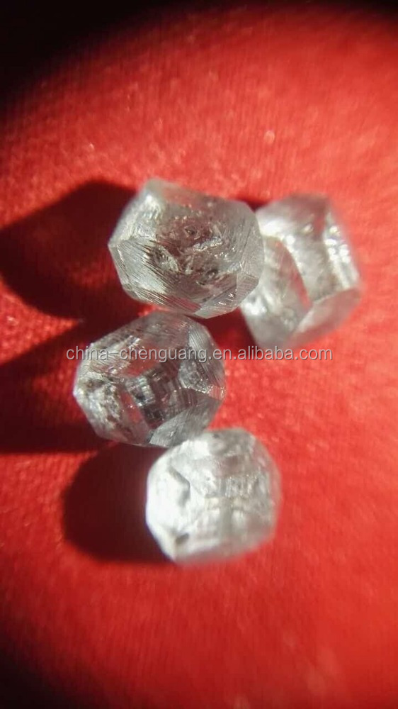 1mm-3mm large size synthetic diamond white rough