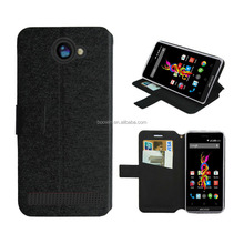 for archos 40D titanium case colorful wallet leather case high quality with factory price