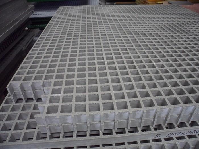 Fiberglass Plastic Floor Grid Floor Grating With Grit