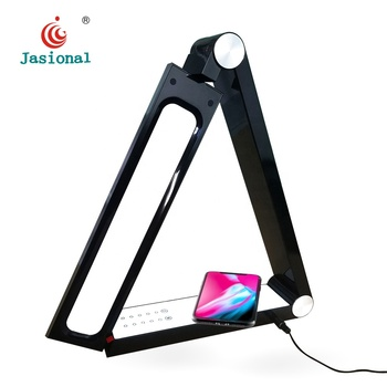 Hot Selling Reading Table Lamp Housing, Triangle Led Desk Lamp With Touch Sensitive
