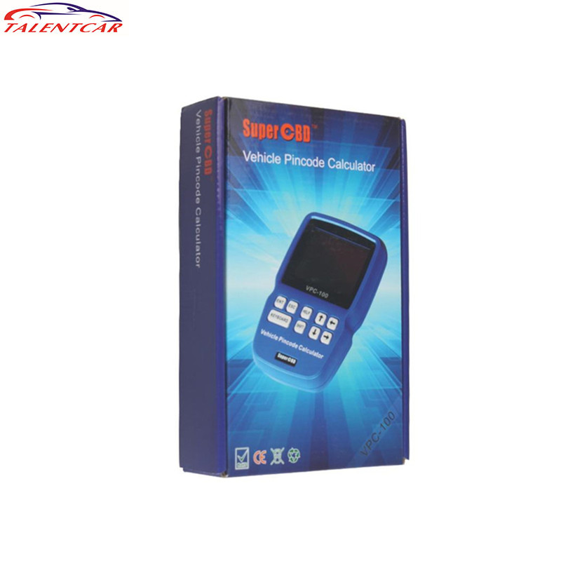 Professional VPC-100 Hand-Held Vehicle PinCode Calculator Suitable To Locksmith User Reader VPC 100 Auto Key Programmer
