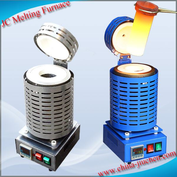 JC Electric Induction Mini Gold Melting Furnace with Custom Service