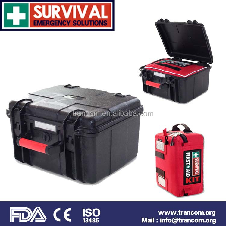 TR108 waterproof SURVIVAL large vehicle first aid kit good quality (CE/FDA/TGA approved)