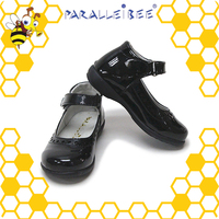 Complete in Specifications non slip healthy black student school kids shoes cheap