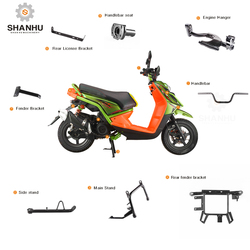 Direct factory china manufacturer thailand gas scooter motorcycle spare body accessories parts for BWSIII