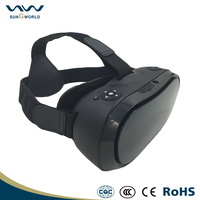 2016 New technology vr box vr 3d glasses virtual reality game console