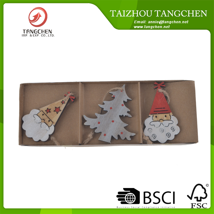 wholesale color Santa Claus Tree Pendant Christmas tree decorative Party Favors,Christmas Ornaments,Christmas Crafts
