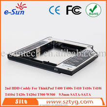2.5 inch HDD Case portable Hard Disk Enclosure with 9.5mm SATA Interface For IBM T400 T500 Series with Skilful Manufacture