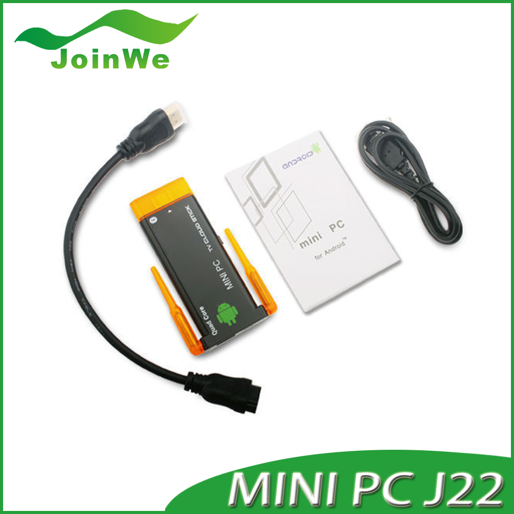 J22 Quad-Core Android 4.2 Mini PC Tv Dongle