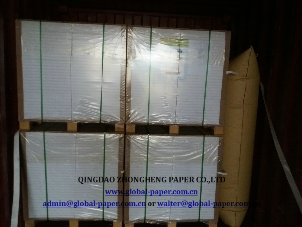 high glossy coated paper cs2 art paper 90 gr 70 x 100cm