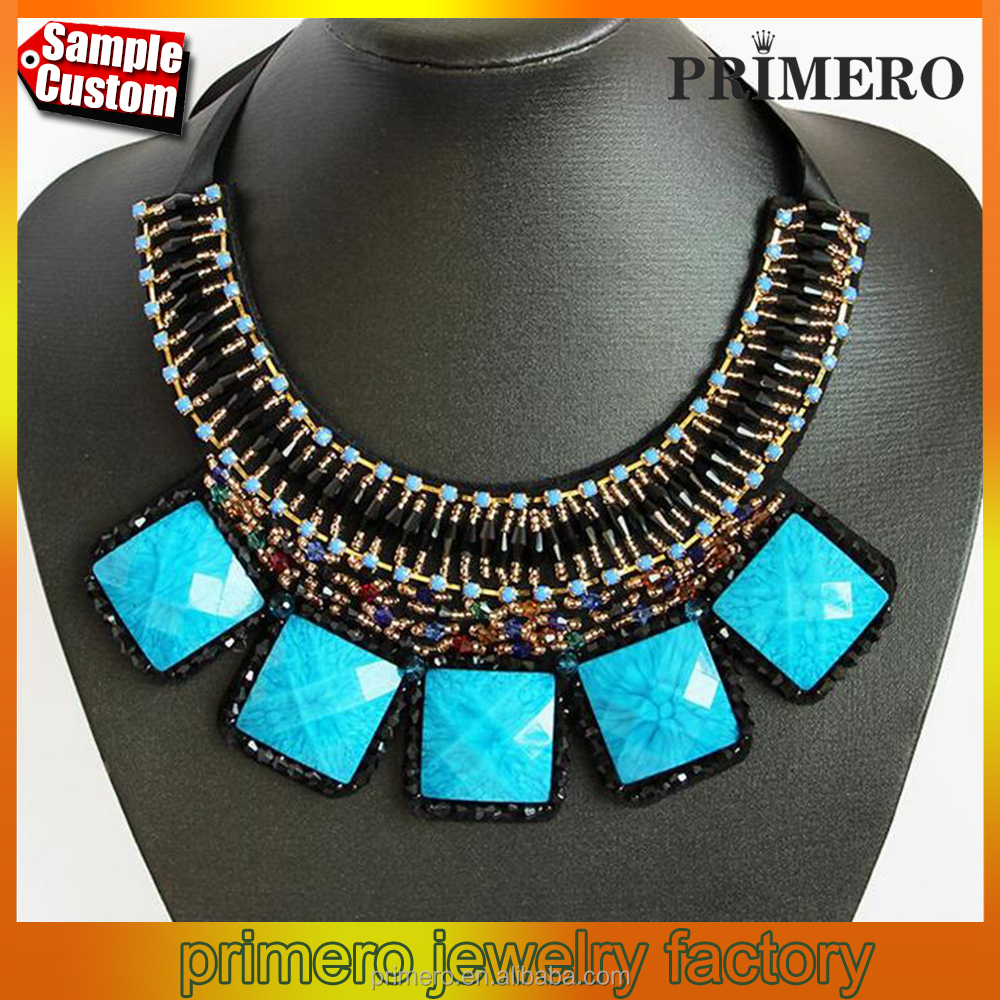 New Multicolor Collar Statement Metal Choker Necklace For Women Jewelry Accessories