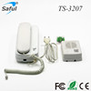 High quality easy to install audio door phone, cheap price clear voice intercom security system