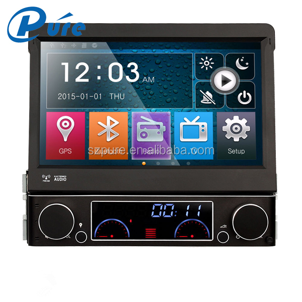 7 inch car dvd player ,1 din car radio ,touch screen bluetooth car gps navigation