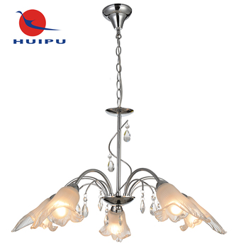 Modern home decorators lighting crystal chandelier lamp hanging