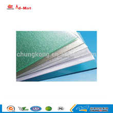 Hot sale 4mm-20mm polycarbonate solid hollow pc sun sheet blue polycarbonate embossed sheet