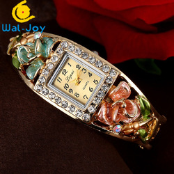 WJ-6547 New Arrival Square Case Creative High Quality Vogue Lady Bracelet Watches