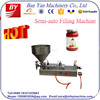 Semi-auto paste filling machine for cream, ointment, paste, jam
