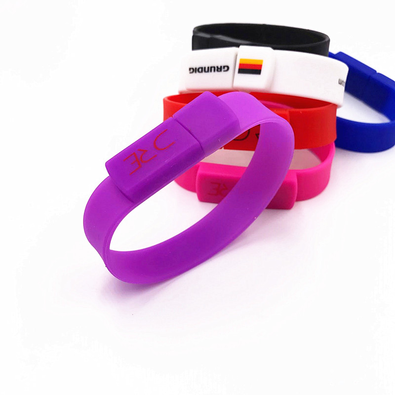 Premiums OEM Promotional <strong>USB</strong> 2.0 Wristband <strong>USB</strong> Memory Bracelet <strong>USB</strong> Flash Drive for Promotion Gift