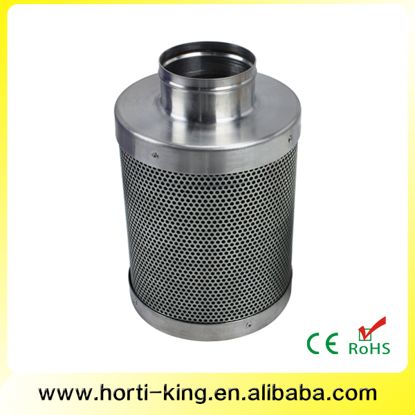 Odor control activated carbon filter activated carbon bed filter