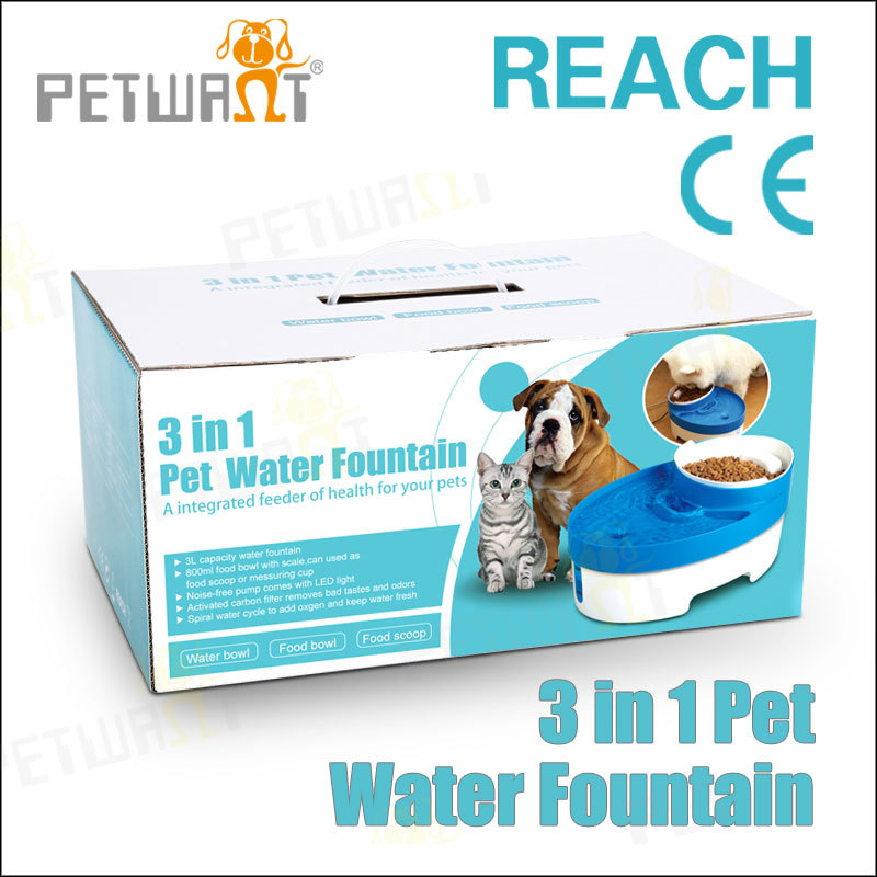 Indoor multi-functional automatic cat drinker dog water fountain