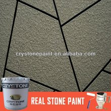 CRYSTONE stucco stone paint spray use for cement wall/fiber cement board
