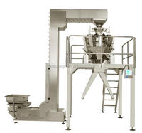 automatic packaging machine for charcoal packaging and processing