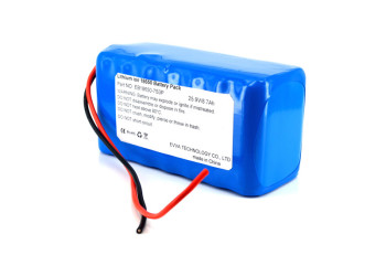 7S3P 25.9V 7800mAh 18650 Lithium ion Battery Pack for Electric Bicycle