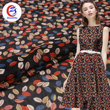 Online shopping beautiful soft feeling pure chiffon tetron fabric for clothing