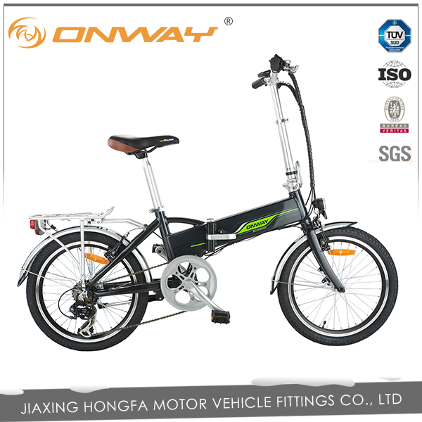 250 watts full suspension folding bicycle electric motor 24v fender amp