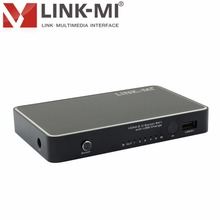 LINK-MI LM-2.0H501 HDMI 2.0 5X1 SWITCH with USB Charge wireless remote control Up to 4k2k@30Hz support watch TV
