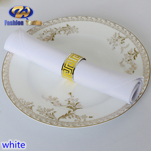 White cocktail cloth napkins for wedding