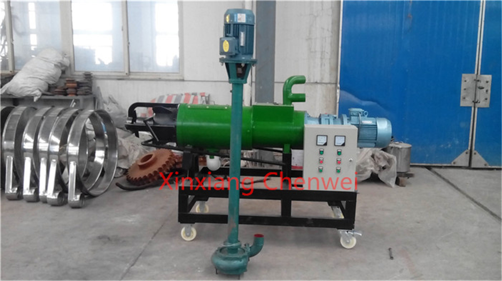 Pig/Cow/Sheep/Chicken screen food waste dewatering machine