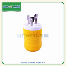 Uchen NEMA L5-20 American plug US locking 3-prong plug