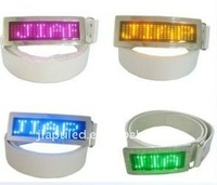 2015 italian belt buckle, LED Scrolling text belt buckle wholesale,led digital belt buckle