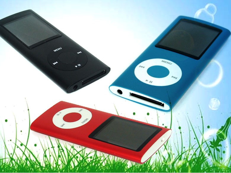 Fashionable mp4 video player download with TF card slot