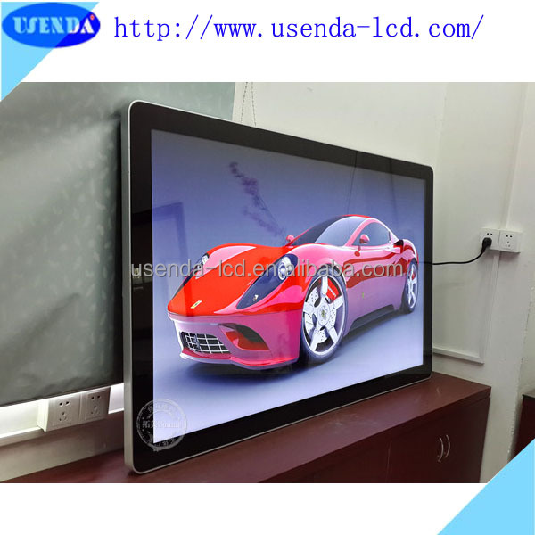 22 26 32 42 55 65 inch Wall Mounted network wifi 3g led HD 1080P gsm advertising player