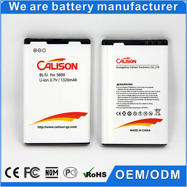 mobile phone battery bl-5j for Nokia 5233