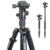 KINGJOY Reversible Quick Release Digital Camera Photo Tripod K009+V00 for Photography